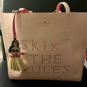 Kate Spade Skirt the rules tote